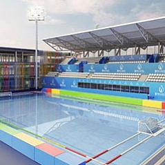 The Water Polo arena (WAP)